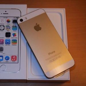 Новый Apple iPhone 5S (последняя модель) - 16 ГБ - золото (Factory Unl